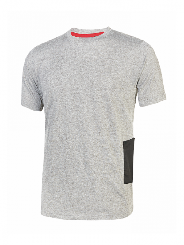 T- SHIRT ROAD GREY SILVER